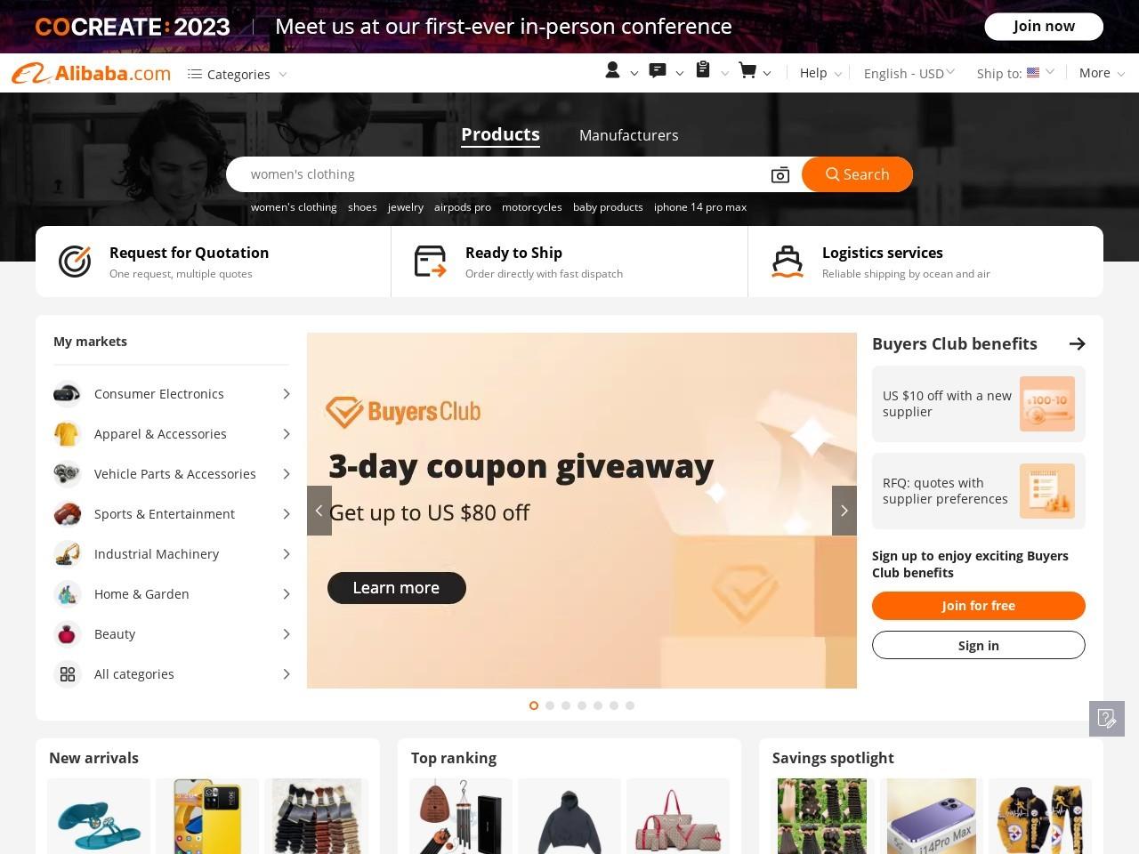 Webthumbnail alibaba.com