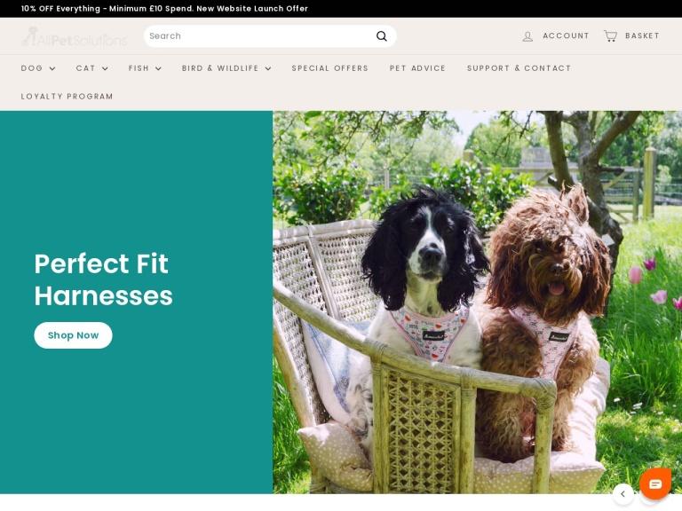 All Pet Solutions Ltd screenshot