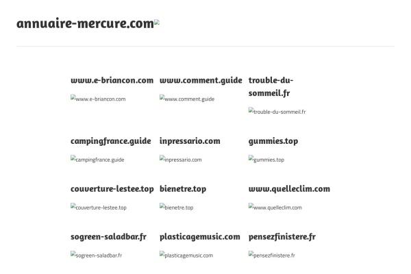 annuaire-mercure.com