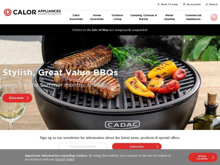 Calor Appliances screenshot