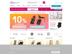 babymarkt screenshot