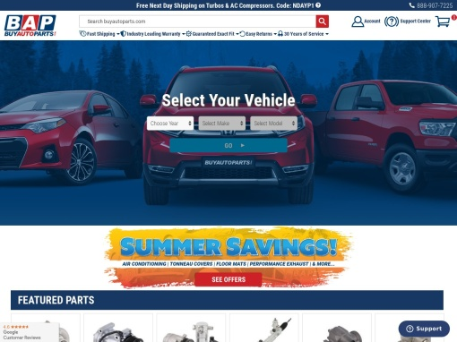 Buy Auto Parts screenshot