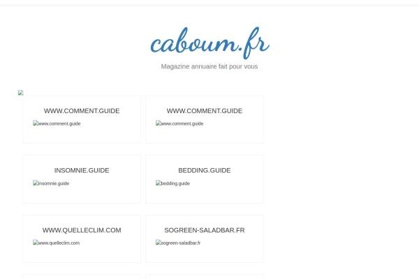 caboum.fr