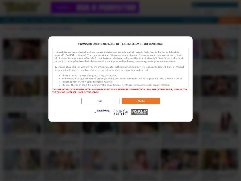 Chaturbate.com homepage screenshot