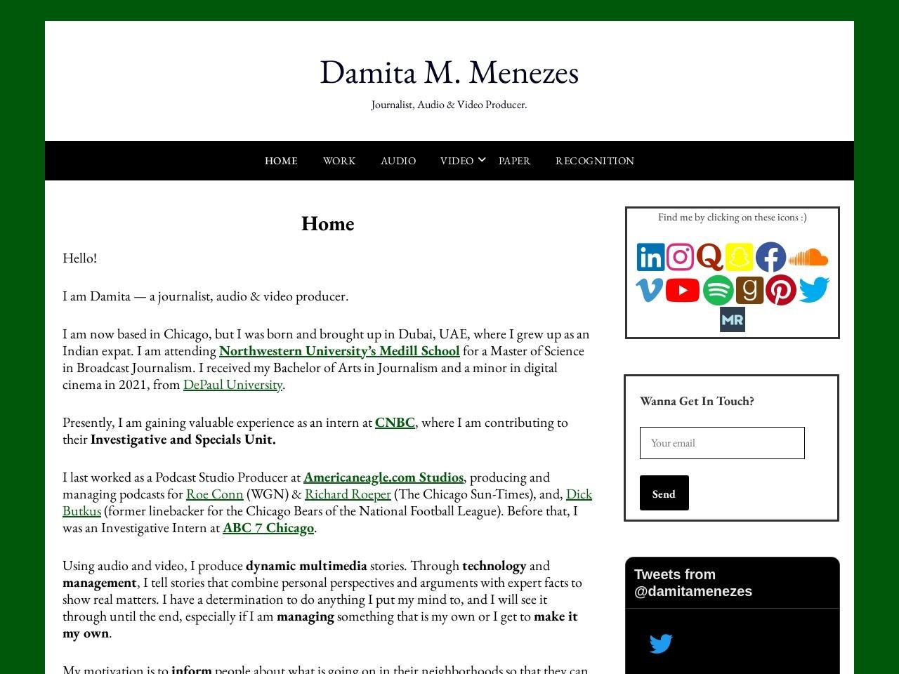 Damita M. Menezes