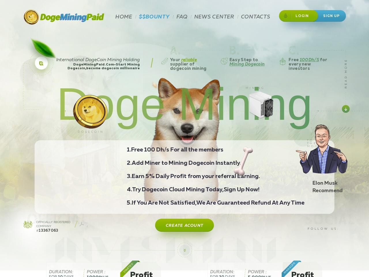 Dogeminingpaid.com Reviews – Scam Or Legit?