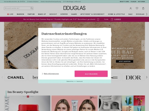 Parfum & Kosmetik online kaufen | Online Parfümerie Douglas.
