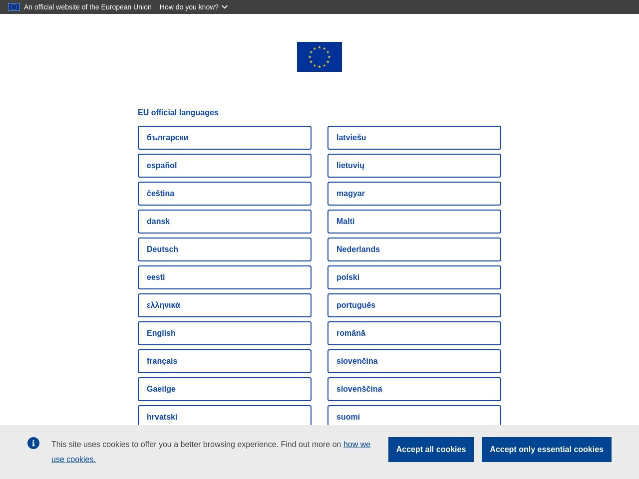 Webthumbnail europa.eu