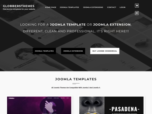 free joomla templates - globbersthemes.com