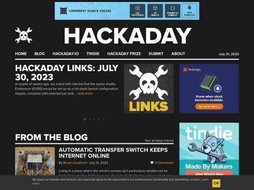 Hackaday | Fresh hacks every day
