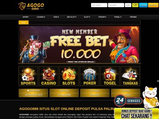 Agogo888 Situs Slot Online Indonesia dengan Permainan Terlengkap