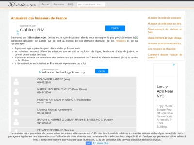 36Huissiers.com : Annuaire des huissiers de France