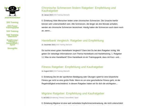 Details : 5x5training.de | stahlharte Muskeln und ein Traumkörper