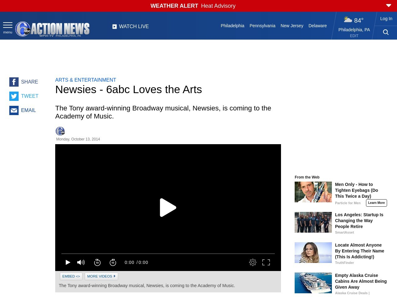 Newsies – 6abc Loves the Arts – 6abc Action News