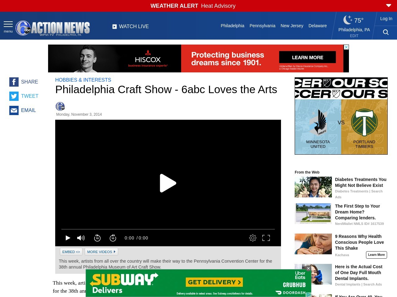 Philadelphia Craft Show – 6abc Loves the Arts   6abc.com