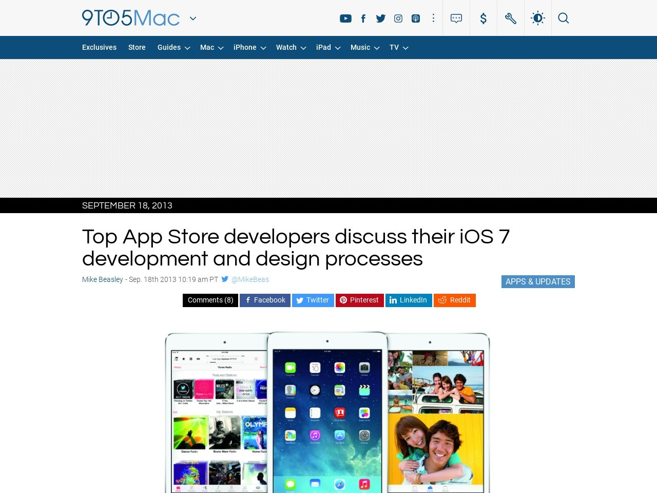 Top App Store developers discuss their iOS 7 development and …