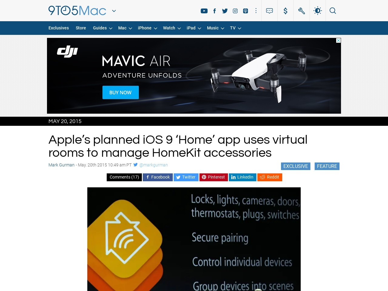 Apple's planned iOS 9 'Home' app uses virtual rooms to …