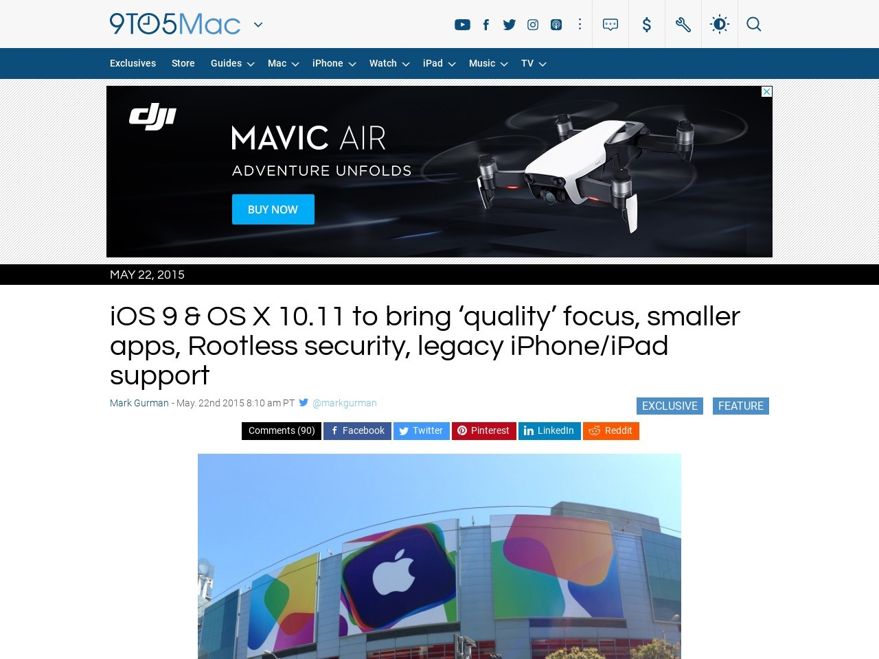 iOS 9 & OS X 10.11 to bring 'quality' focus, smaller apps …