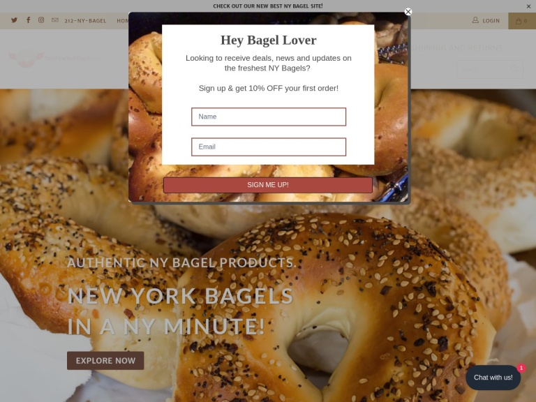 Best New York Bagel Coupon Codes