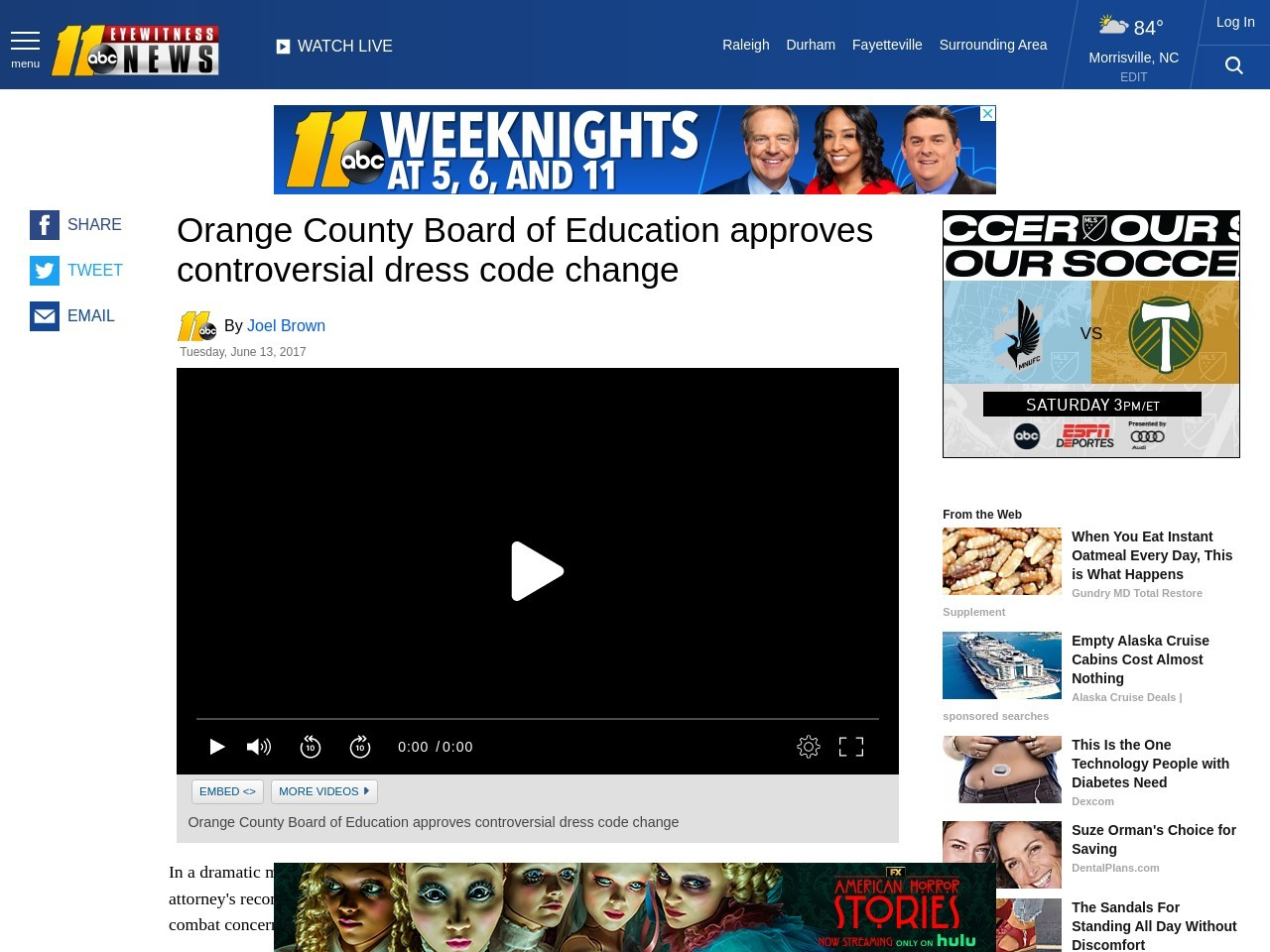 Orange County Board of Education approves controversial dress code change