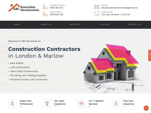 Building Contractors in Marlow – ABC Structure 4U