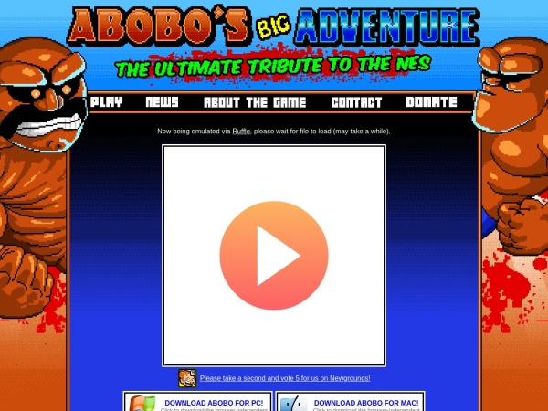 Abobo's big adventure - 25+ Best Browser Games 2020 – You Should Play