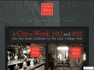 A City at Work using the Avid WordPress Theme