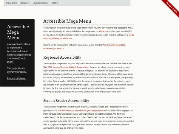 http://adobe-accessibility.github.io/Accessible-Mega-Menu/