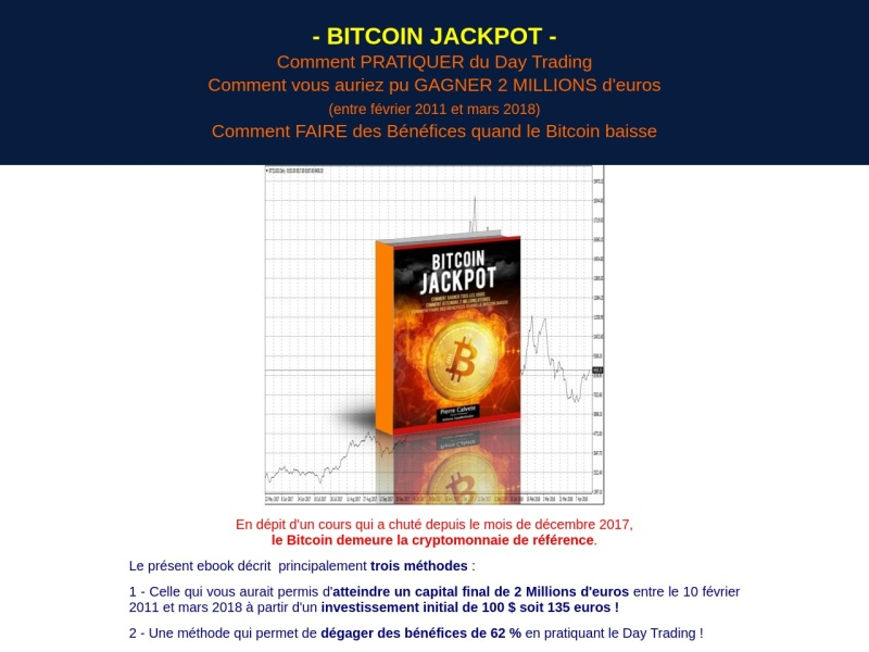bitcoin jackpot (version augmentee)