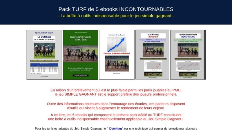 pack turf de 5 ebooks incontournables !