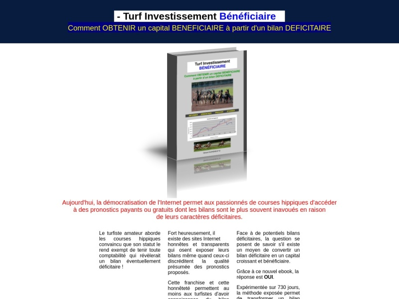 turf investissement beneficiaire