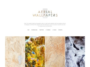 Aerial Wallpapersのスクリーンショット