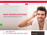 AF Clinic SKIN HAIR AND LASER – Hair transplantation service in Hyderabad