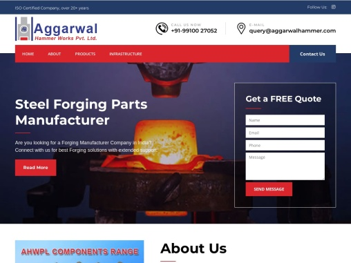 Forging Companies in Delhi NCR India| Aggarwal Hammer Works