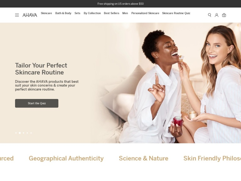 AHAVA screenshot