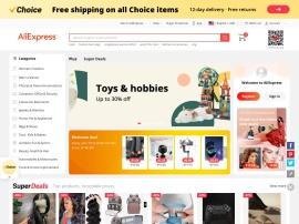 Online store Aliexpress