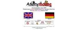 anonymouse.org Vorschau, Anonym im Netz