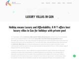 luxury villas in Goa | apartments in Goa | villas in Goa