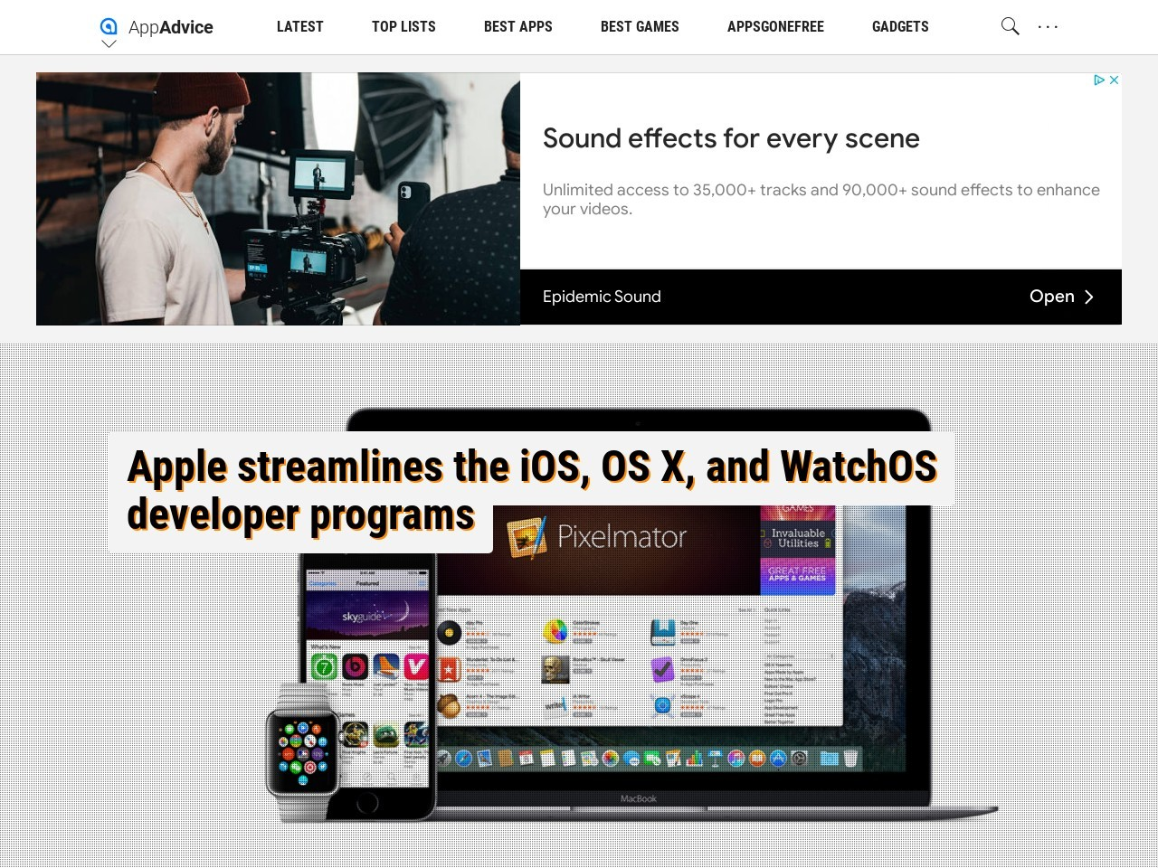 Apple streamlines the iOS, OS X, and WatchOS developer …