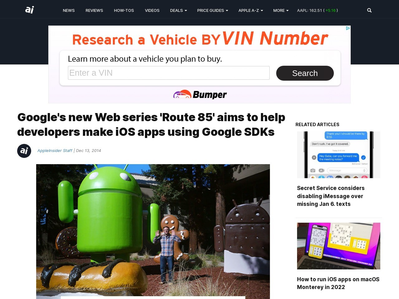 Google's new Web series 'Route 85' aims to help …