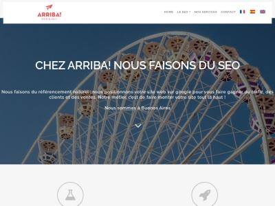 Arriba, une nouvelle agence SEO