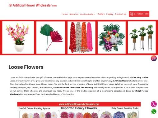 Florist Shop Online – Artificial Flower Wholesaler