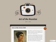 Vintage Camera WordPress Theme example