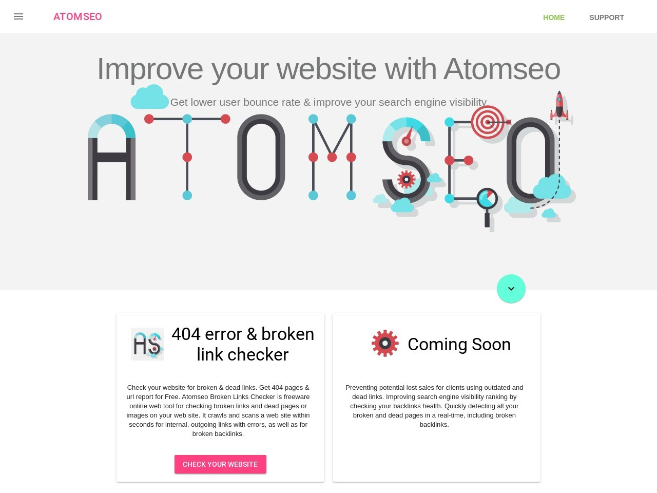 Atomseo Broken Links Checker. Enterprise Monthly Subscription Plan Coupon Code