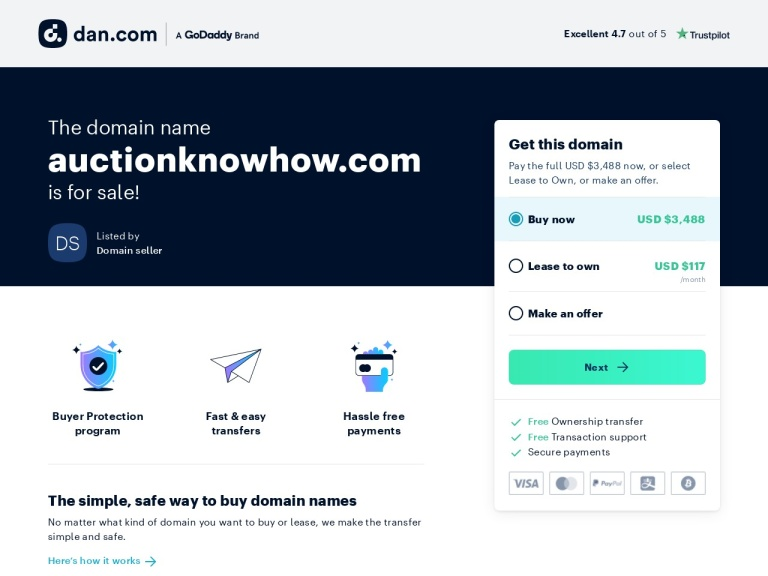 Auctionknowhow screenshot