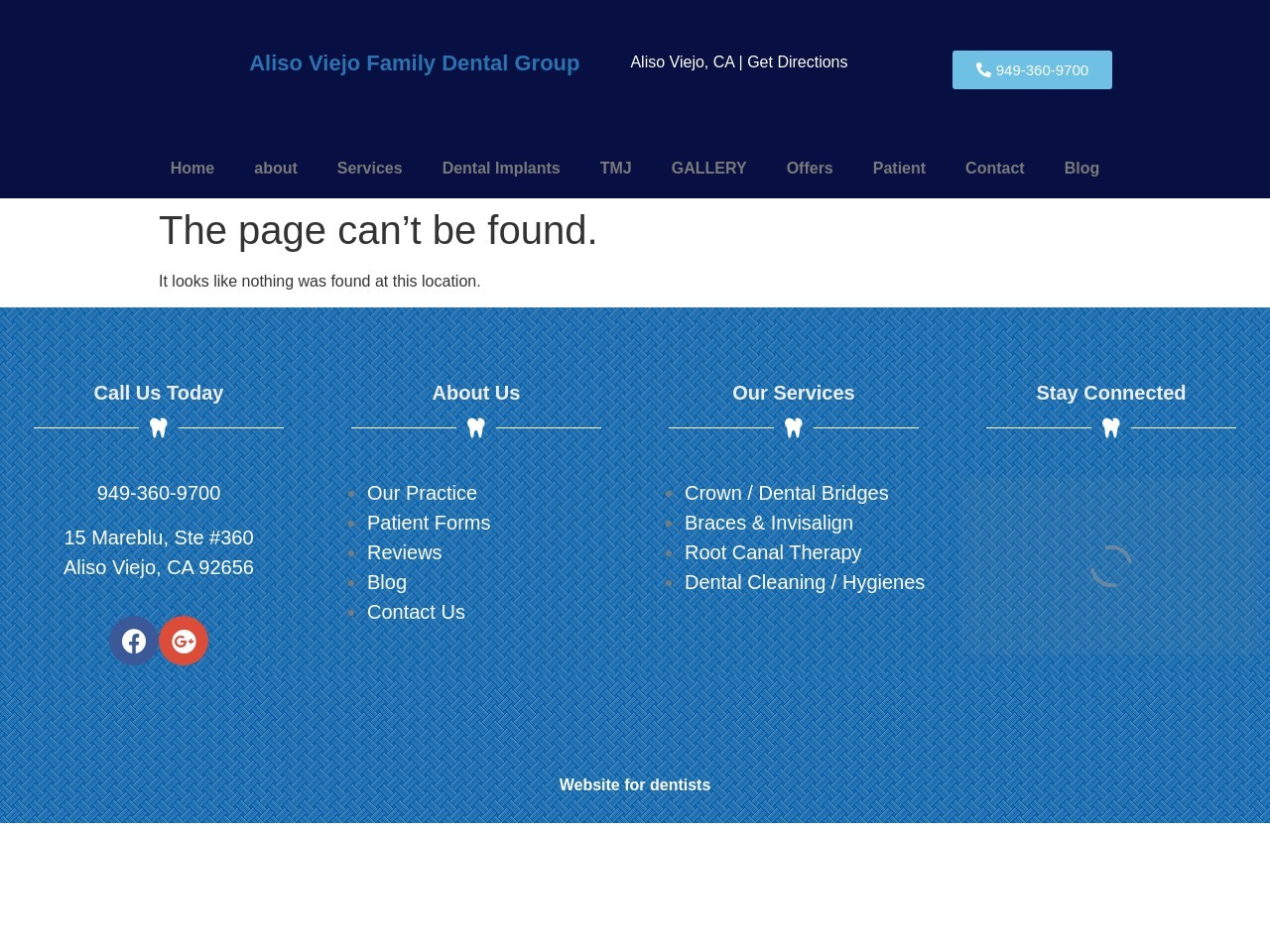 avfdentalgroup.com/homepage/ screenshot
