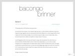 Bacongo Brinner