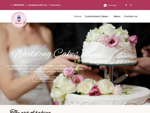 Best Cake Shops in Bangalore | Best Bakery in Bangalore