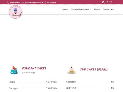 Cake Shop | Bakery in Bangalore | Best Cakes in Bangalore