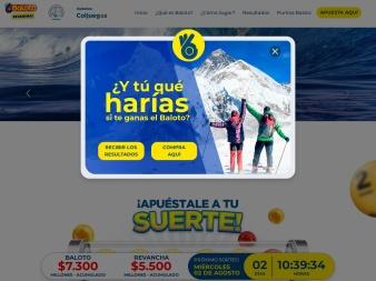 baloto.com screenshot